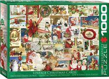 EG60000784 - Eurographics Jigsaw Puzzle 1000 Piece - Vintage Christmas Cards