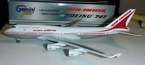 Gemini Jets 1:400  Air India Airlines 747  #VT-ESO -    GJAIC053