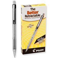 Pilot The Better Retractable, Fine Point, Black (PIL 30000) - 12/pk