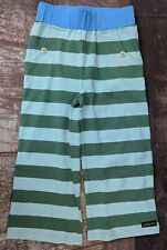 Matilda Jane Camp MJC Stripes Win It Straightees Size 8 Capris Cropped Pants