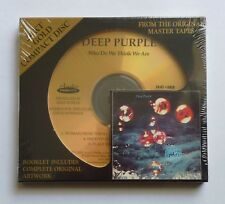 Deep Purple Who Do We Think We Are 24-kt Gold CD, Oct-2005 Audio Fidelity Sealed