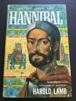 HANNIBAL ONE MAN AGAINST ROME Signed 1st Edition 1958 by HAROLD LAMB
