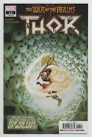 THOR #13 MARVEL comics NM 2019 Aaron Del Mundo War of the Realms ⚔️⚔️⚔️