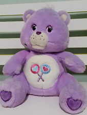 CAREBEAR CARE BEARS  READ A STORY BEAR! SHARE BEAR SHARE A STORY! PURPLE TALKING