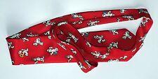 Très rare cravate Gai-Luron Gotlib chien Média-Mode 1996 soie état neuf