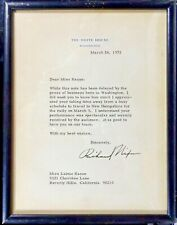 Richard M. Nixon - Typed Letter Signed as President, 1972