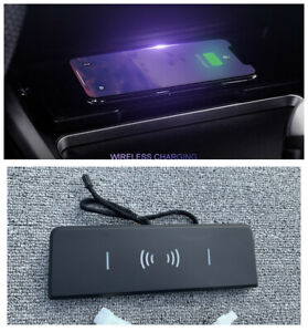 Console Storage box Wireless Charging charger For BMW F30 F31 F34 F36 3 4 Series