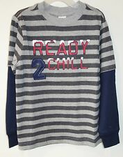 New With Tags ~ Gymboree King Of Cool Ready 2 Chill Shirt Size 8 Year