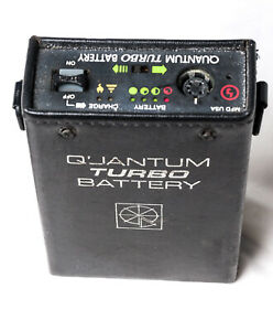 Quantum Turbo Battery recent cells and charger.