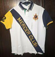 POLO RALPH LAUREN MERCER CLUB Big Pony Short Sleeve Shirt XXL