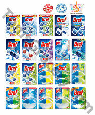 BREF WC Toilet Hangers Cleaners Rim Blocks CLEAN + FRESH Hygiene Power Aktiv