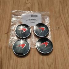 Genuine Mclaren 540C 570S  Red Carbon Fibre Hub Cap (4PCS) Brand New