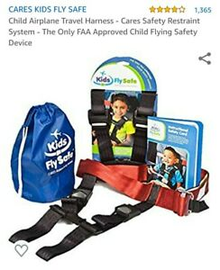 Child Airplane Travel Harness - Cares Safety Restraint System - The Only FAA...