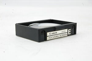 *Not ship to USA* Canon Focusing Screen for Canon old F-1 Type E  SN1507 *Exc++*
