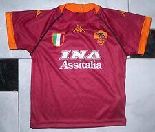 Maglia ROMA 2001/02 Totti Montella Batistuta No Matchworn Kappa 24 Mesi No Juve