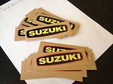 Suzuki TM400 TS400 Side Cover Decal Vintage AHRMA Magneto Emblem 68233-16500