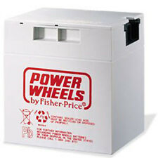 NEW- Genuine Power Wheels 12 Volt Rechageable Battery 00801-1460 Gray 12V
