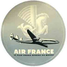 Air France    Vintage-Looking  1950's  Airline Travel Sticker/Decal/Label