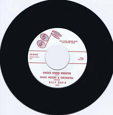 HANK MOORE - KNOCK KNEED ROOSTER - KILLER 1959 ROCKABILLY JIVER - REPRO