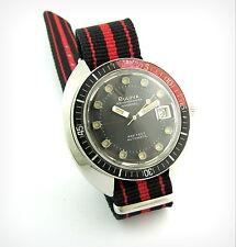 Vintage Diver Watch...BULOVA OCEANOGRAPHER....Automatic...666 Feet...Steel..Top!