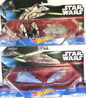 4 x Star Wars Hot Wheels Die-Cast Starship Figures Flight Navigator Toys Gift