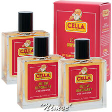 After Shave Lotion 3 x 100ml Cella Milano ® Soothing Moisturising Toned Skyn