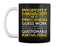 Property Manager Precision Gift Coffee Mug