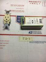 Leviton 5261-I Single Outlet 15A 125V Warranty Fast Shipping!