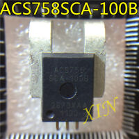 new linear current sensor with a new ACS756 ACS756SCA-100B-PFF Holzer effect