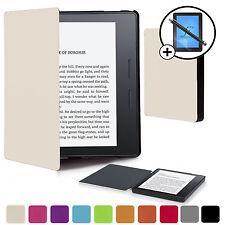 Bianco Smart Manicotto Astuccio Per Copertura Portafoglio Amazon Kindle Oasis