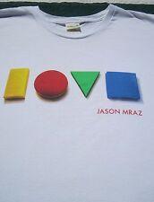 JASON MRAZ Foundation 2012 Benefit XL concert T-SHIRT