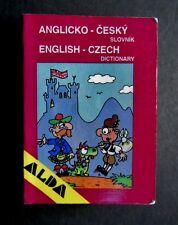 Alda Miniature Anglicko-český slovník: English-Czech dictionary 1993, 8085600358