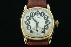 Vintage Illinois Telephone Dial Watch
