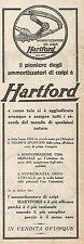 W2023 Ammortizzatori di colpi HARTFORD - Pubblicità del 1925 - Vintage advert