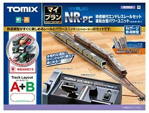 Tomix 90950 My Plan NR-PC (Track Layout A+B) with Power Controller (N scale)