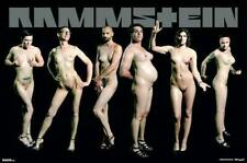 RAMMSTEIN POSTER NACKT PUSSY COVER