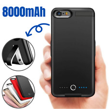8000mAh Battery Charger Case Power Bank Charging Cover for iPhone 6 7 8 Plus SE