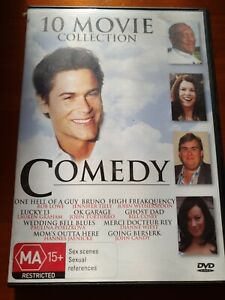 10 Movie Comedy Collection DVD 4-Disc Set FREE POST