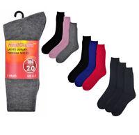 Mujer Sk139 Calcetines Térmicos Paquete de 3 Talla UK 4-7 por Calor Guardián