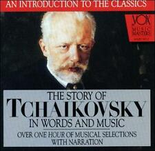 DAMAGED ARTWORK CD : The Story of Tchaikovsky in Words and Music