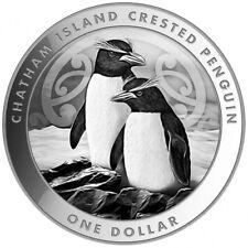 NOUVELLE ZELANDE 1 Dollar Argent 1 Once Pingouin 2020