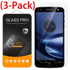 3x Tempered Glass Screen Protector for Motorola Moto Z Force Droid