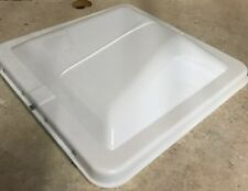 White Vent Lid Cover Ventline Elixir. RV Trailer Replacement Roof Part Kit NEW