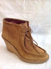 Marc by Marc Jacobs Brown Bottines Suede Boots Size 38.5