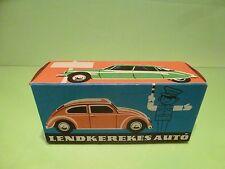 LENDKEREKES AUTO 70's - ONLY BOX for VW VOLKSWAGEN BEETLE - L16.0cm - EMPTY BOX