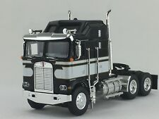 1/64 DCP BLACK/WHITE KENWORTH K-100 AERODYNE