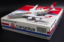"""Cargolux B747-8F LX-VCM """" Cutaway Livery """" 1:400 JC Wings Diecast Models  XX4709"""