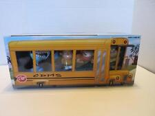 NIB Rare My Gym Partner's a Monkey School Bus 4 Figure Set Adam Jake Shark Goril