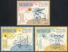 Hungría Juegos Olímpicos de 2000/disparos/gimnasia/deportes/medallas 3 V Set (n45351)