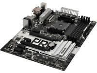 ASRock X370 PRO4 AM4 AMD Promontory X370 SATA 6Gb/s USB 3.1 HDMI ATX AMD Motherb